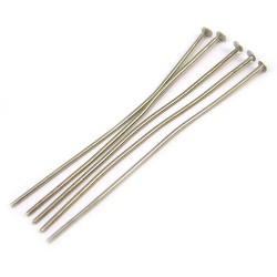 Пины (гвозди) бижутерные, 5см, стальные