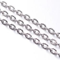 Ланцюжок металевий 3х4мм, ціна за 10см