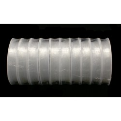 Силиконовая (эластомерная) нить, 1,0мм, прозрачная, катушка 4м.