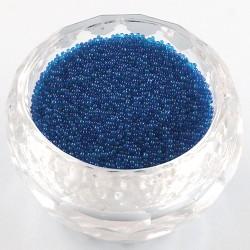 Бульонки стеклянные 0,6-0,8 мм серебристые непрозрачные