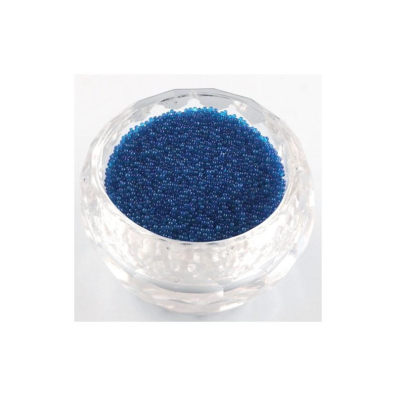 Бульонки скляні 0,6-0,8 мм сріблясті непрозорі