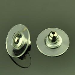 Заглушка для сережок металева