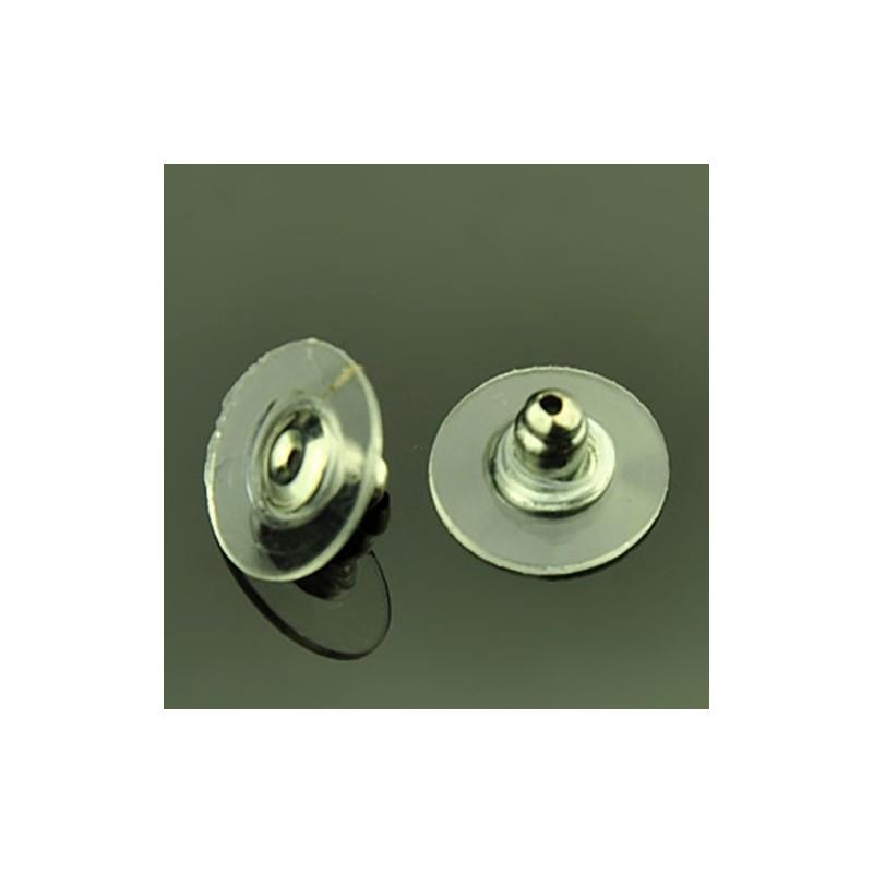 Заглушка для сережек металлическая