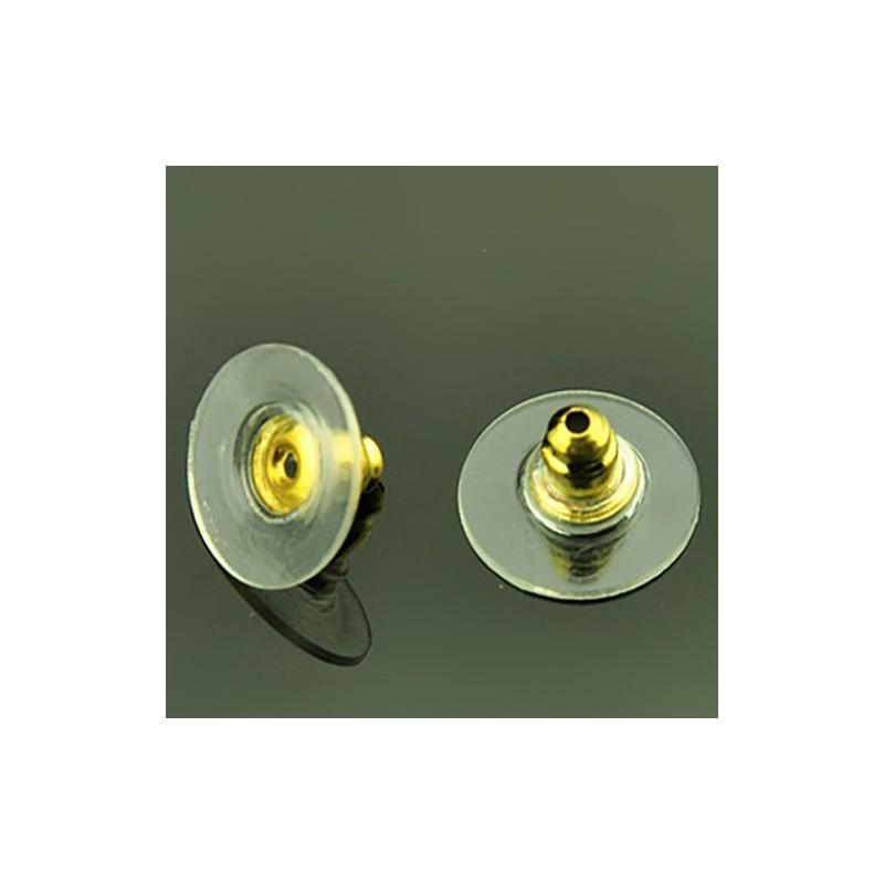 Заглушка для сережок золотиста