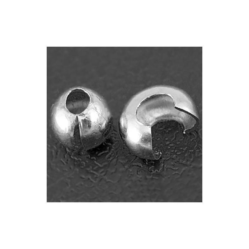 Латунний обтиск 4мм сталевий