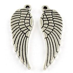 Підвіска крильце, 9х30мм, сталева