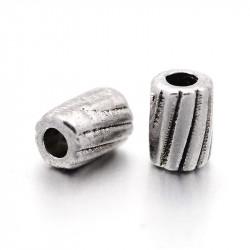 Намистина Циліндр 3x4мм, сталева