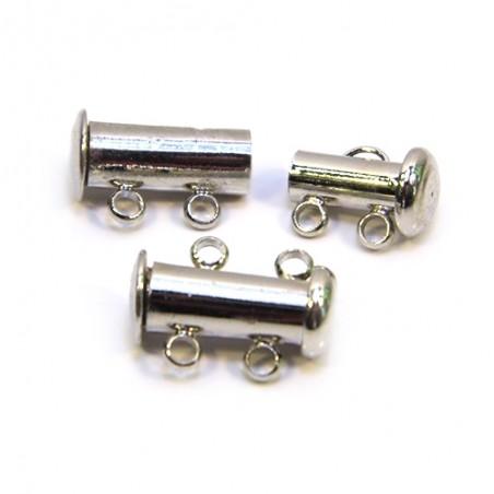 Застежка слайдер на 2 нити, не магнитный