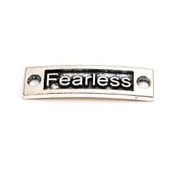 """Коннектор """"Fearless"""", 9х15 мм, металлический, цвет стальной"""
