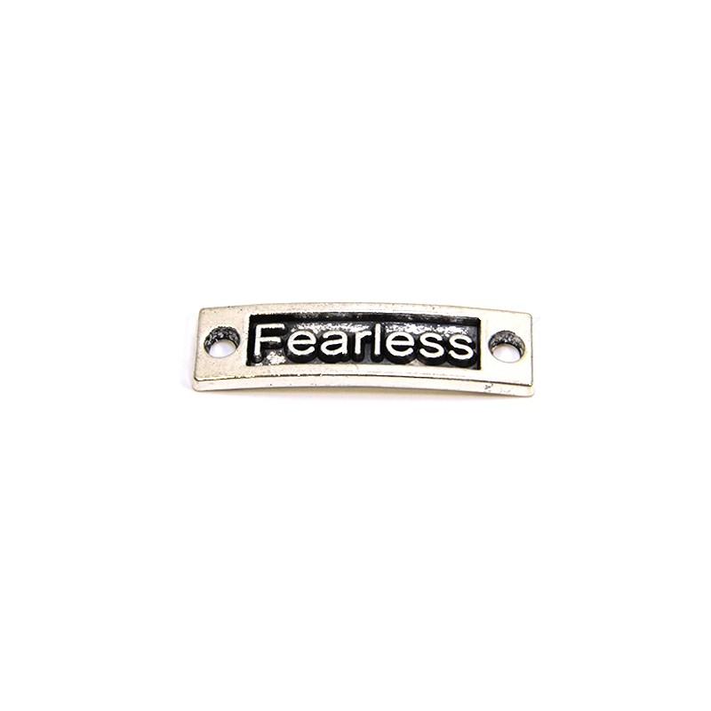 """Конектор """"Fearless"""", 9х15 мм, металевий, колір сталевий"""
