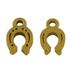 Підвіска Підкова, 12мм, античне золото