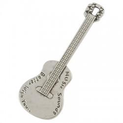 Підвіска Гітара, 62мм, металева