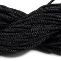 Шнур Нейлоновый, черный, 1мм