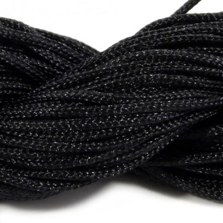 Шнур Нейлоновый, чорный, 1мм, ціна за 1 м