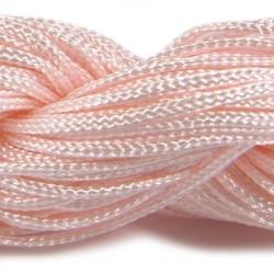 Шнур Нейлоновий, персиковий, 1мм, ціна за 1метр