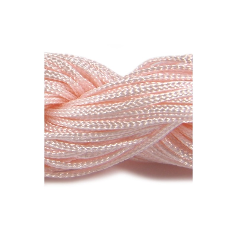 Шнур Нейлоновый, персиковый, 1мм, цена за 1метр