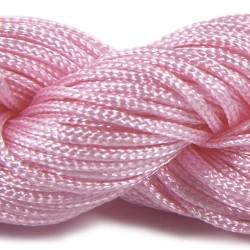 Шнур Нейлоновый, розовый, 1мм, цена за 1метр