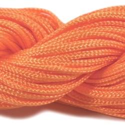 Шнур Нейлоновый, оранжевый, 1мм, цена за 1метр