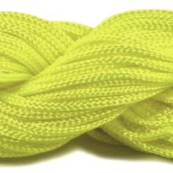 Шнур нейлоновий, Світло-жовтий, 1мм, ціна за 1метр