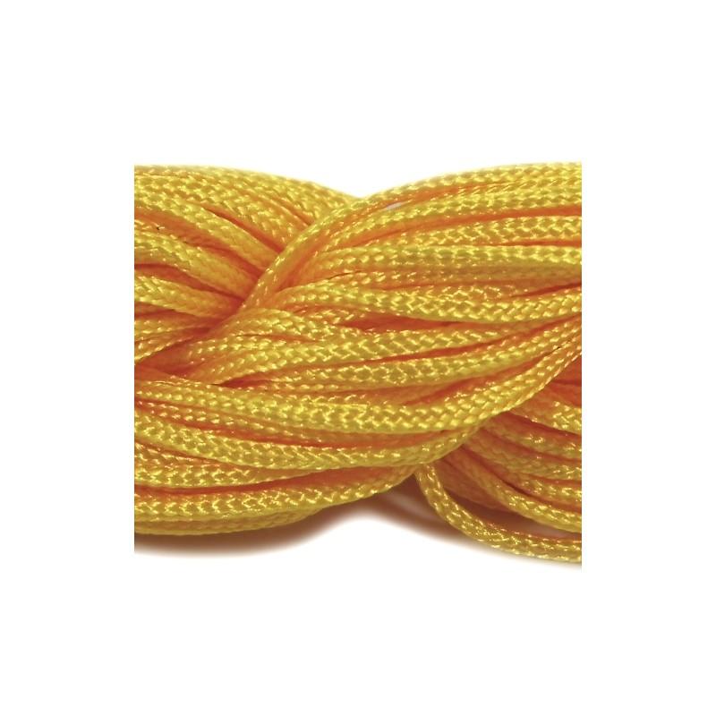 Шнур Нейлоновый, желтый, 1мм, цена за 1метр
