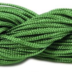 Шнур нейлоновий, Зелений, 1мм, ціна за 1метр