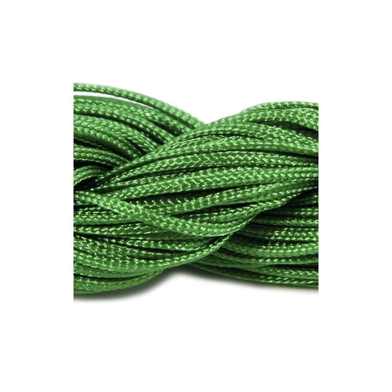 Шнур Нейлоновый, зеленый, 1мм, цена за 1метр
