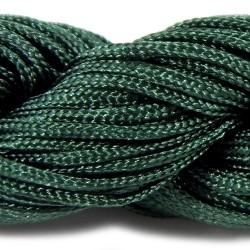 Шнур нейлоновий, Смарагдовий, 1мм, ціна за 1метр