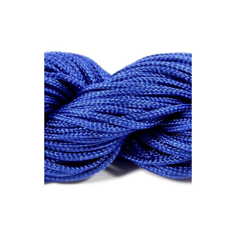Шнур нейлоновий, Синій, 1мм, ціна за 1метр