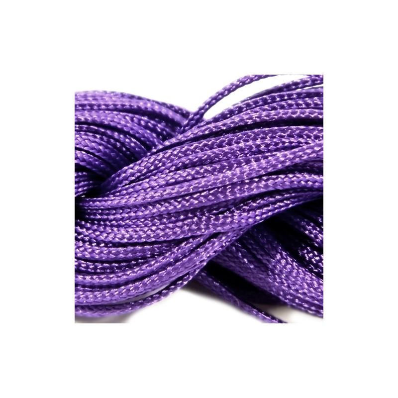 Шнур Нейлоновый, фиолетовый, 1мм, цена за 1метр