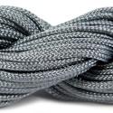Шнур нейлоновый, серый, 2мм, цена за 1метр
