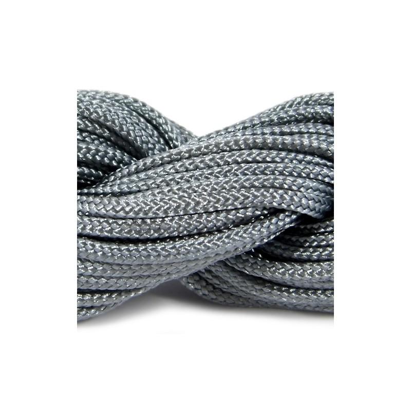 Шнур нейлоновий, сірий, 2мм, ціна за 1метр