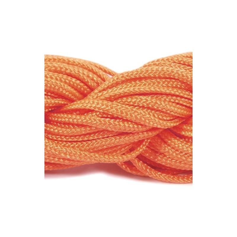 Шнур нейлоновий, помаранчевий, 2мм, ціна за 1метр