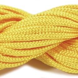 Шнур нейлоновий, жовтий, 2мм, ціна за 1метр