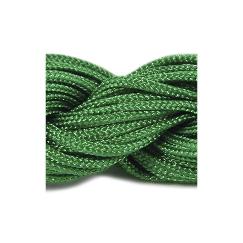 Шнур нейлоновий, зелений, 2мм, ціна за 1метр