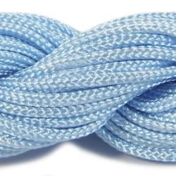 Шнур нейлоновый, голубой, 2мм, цена за 1метр