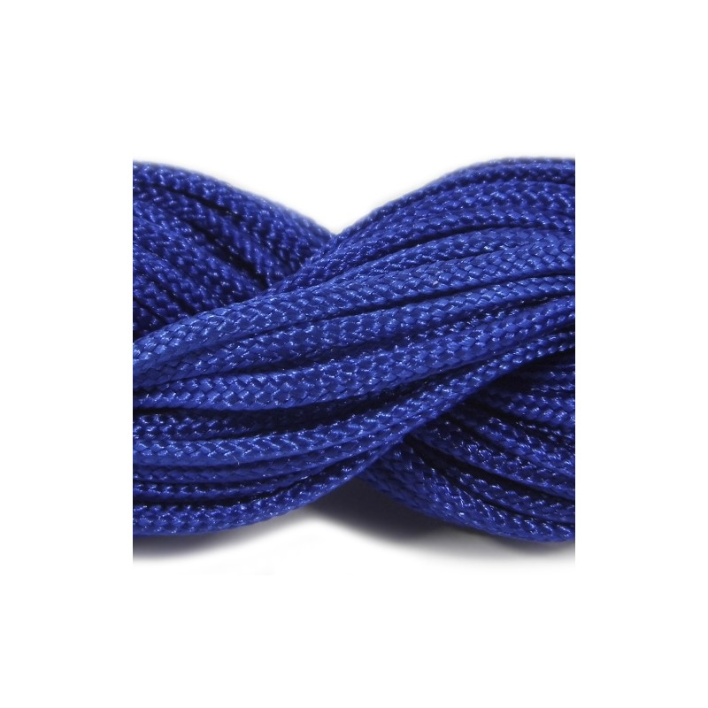 Шнур нейлоновый, синий, 2мм, цена за 1метр