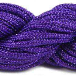 Шнур нейлоновий, фіолетовий, 2мм, ціна за 1метр