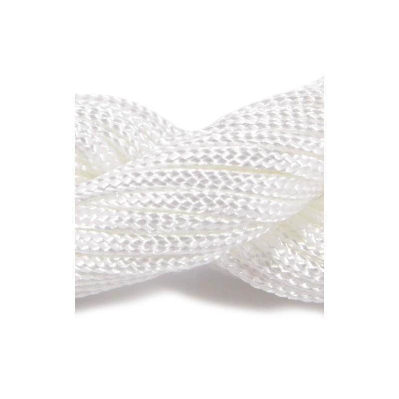 Шнур Нейлоновий, білий, 2мм, ціна за 1метр